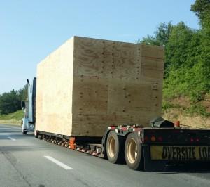 Dangerous tractor trailer